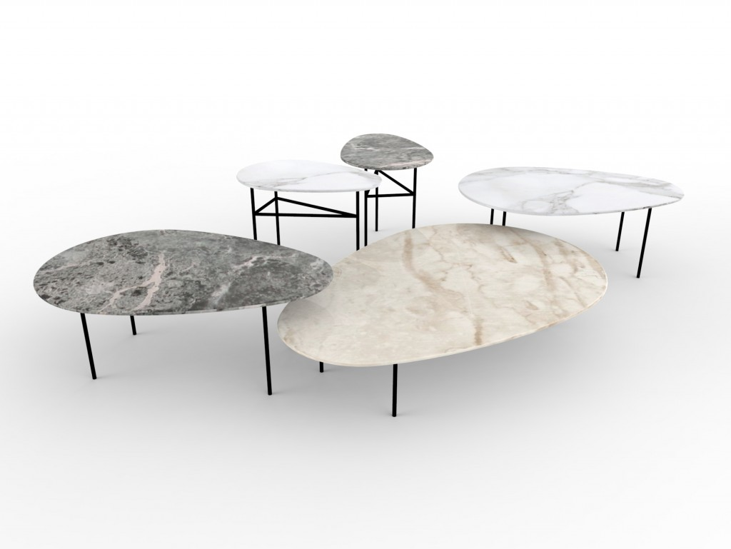 """Lily"" table collection by Marc Thorpe for Casamania"