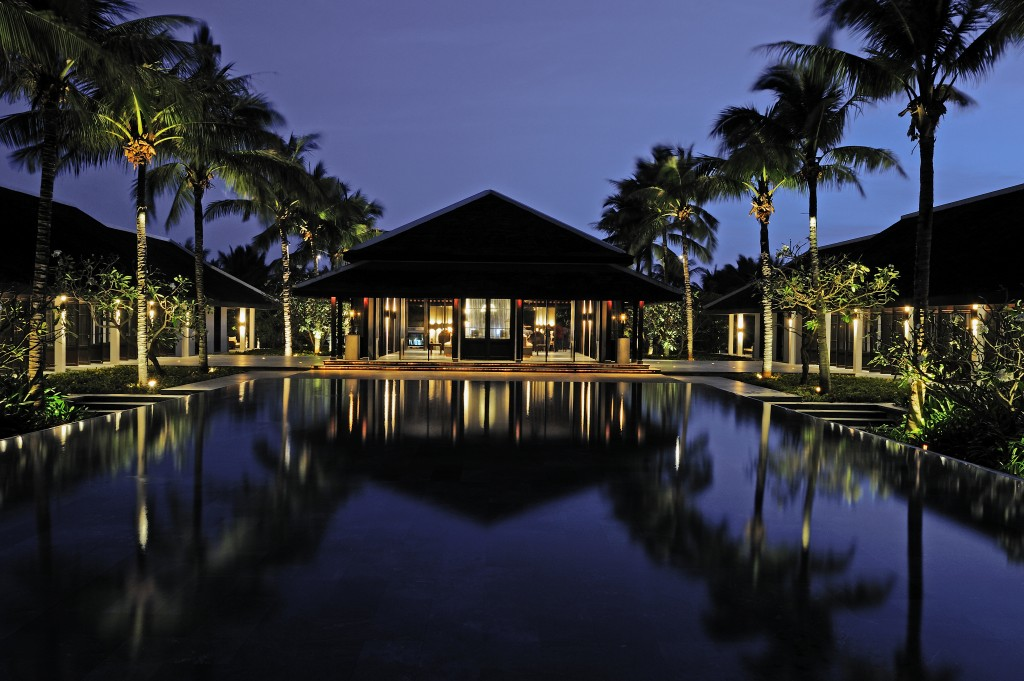 he hotel's architecture is inspired by the traditional Hoi An houses