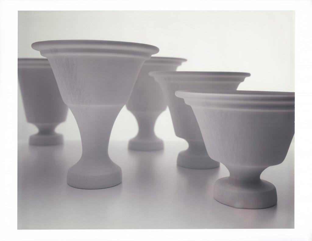 Paper Vase by Thomas Libertiny