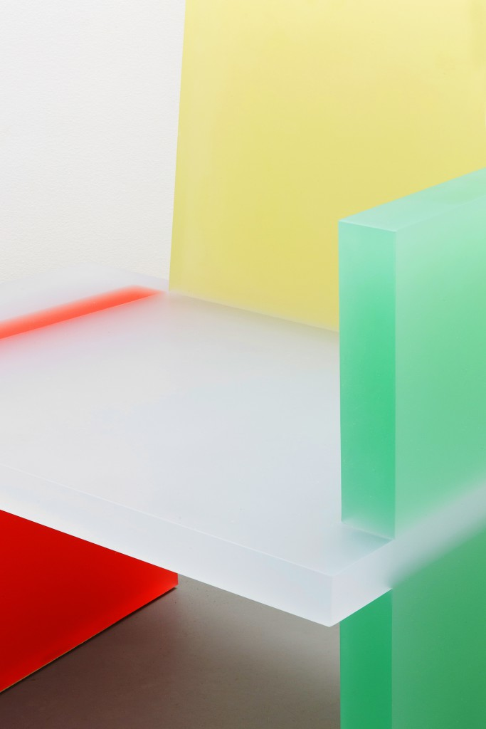 Haze Armchair (Red, Yellow and Green)