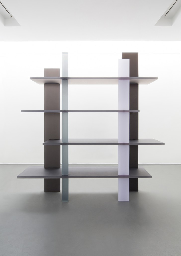 Haze Bookshelf (White, Gray and Navy)