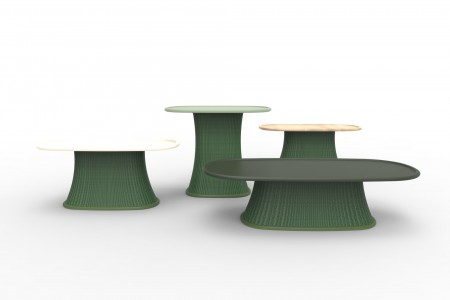 """Baobab"" tables by Marc Thorpe for Moroso"