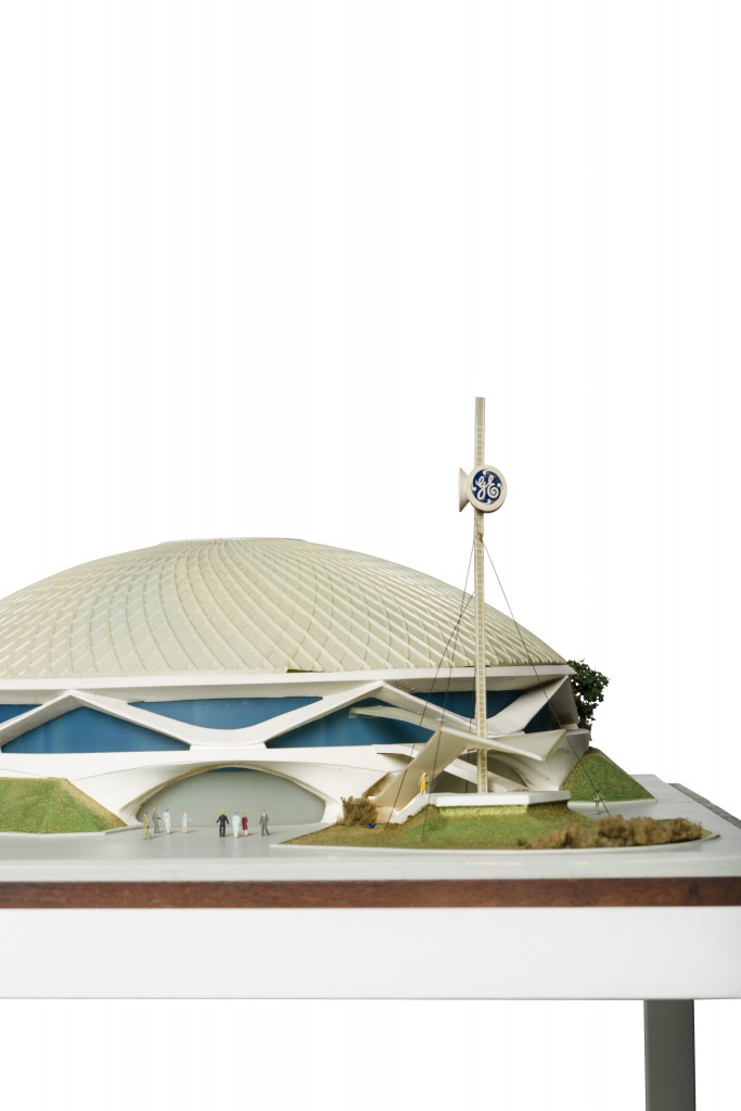 Scale model of Progressland for the World's Fair by Richard Rush Studio