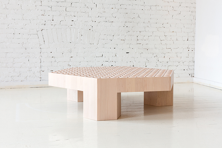Assemblage Wood Coffee Table