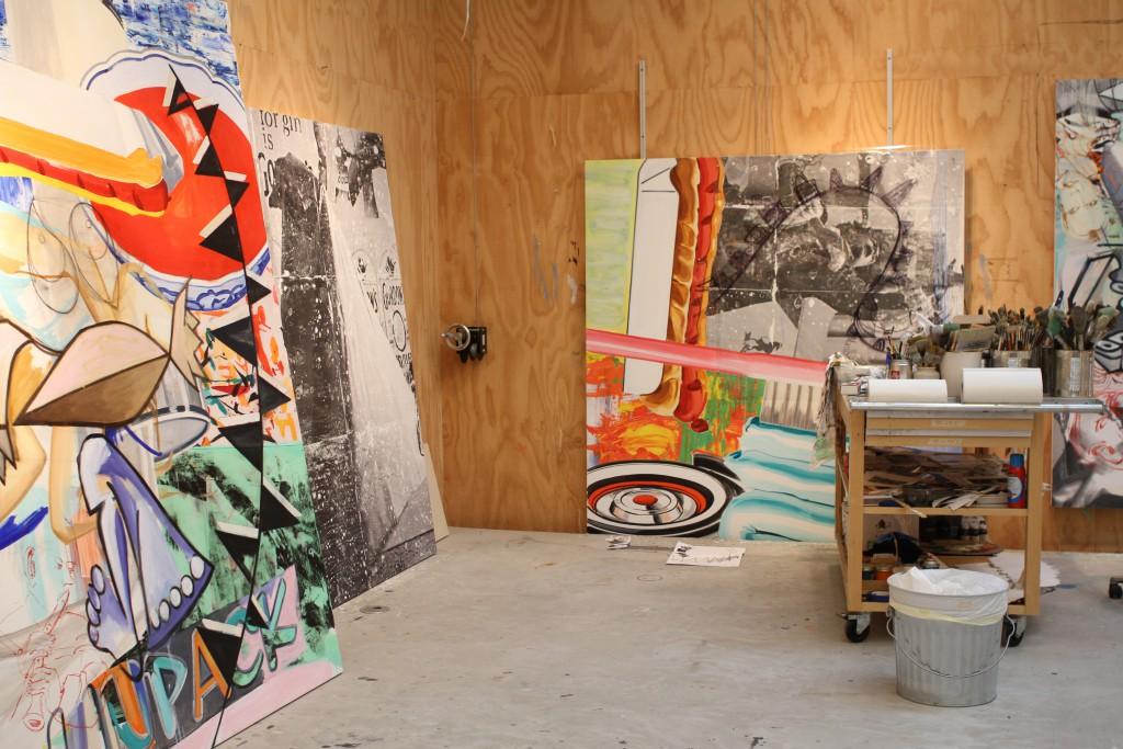 East Hampton Studio, Photo: Costas Picadas