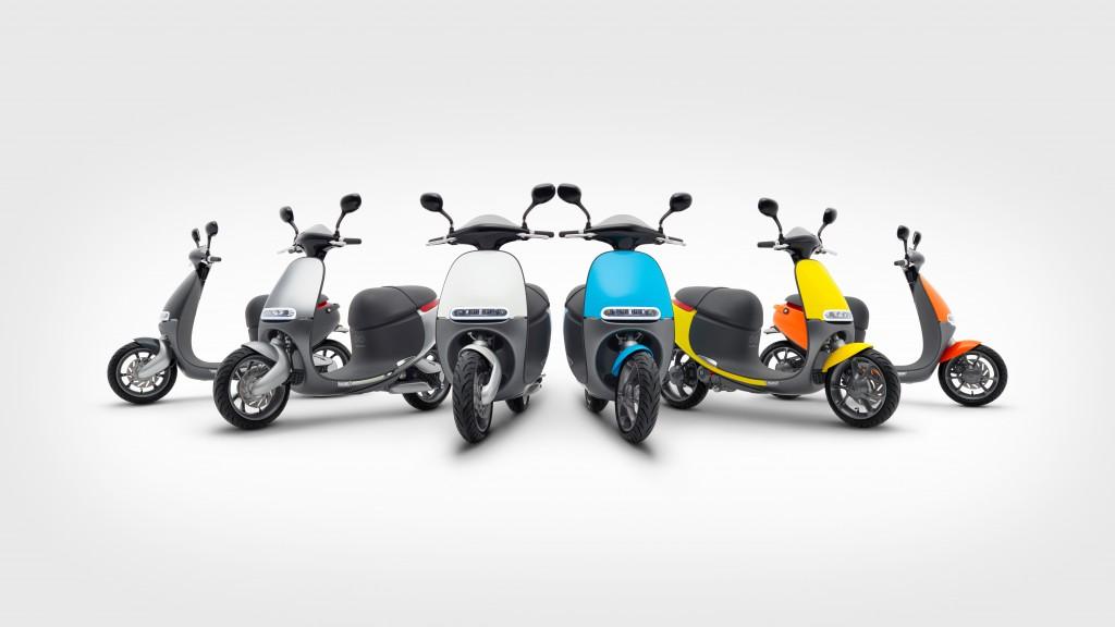 Gogoro Smartscooter EV (image courtesy Gogoro)
