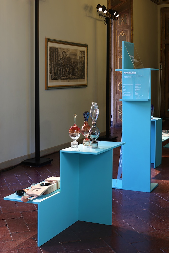 Installation view of Manifesto at Atelier Clerici