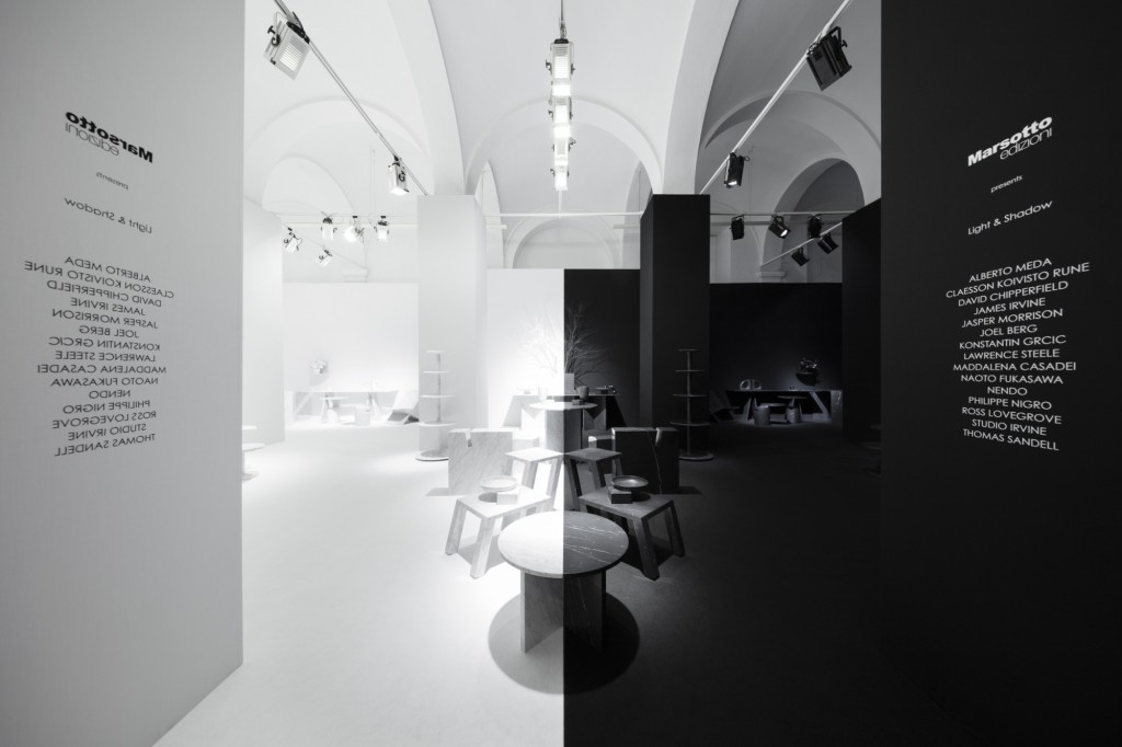 """light & shadow"" by Nendo for Marsotto (Photo by Takumi Ota)"