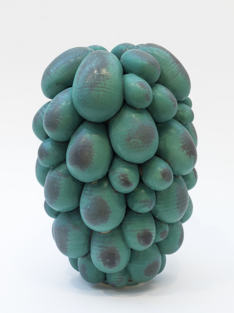 Marten Medbo, Crowd, 2014, stoneware with various glazes