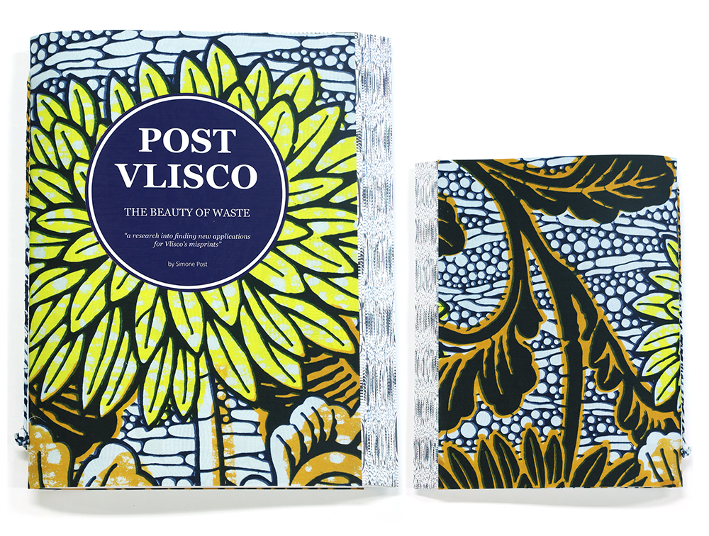 Post-Vlisco Book, design by Simone Post, Photo: David van der Stel
