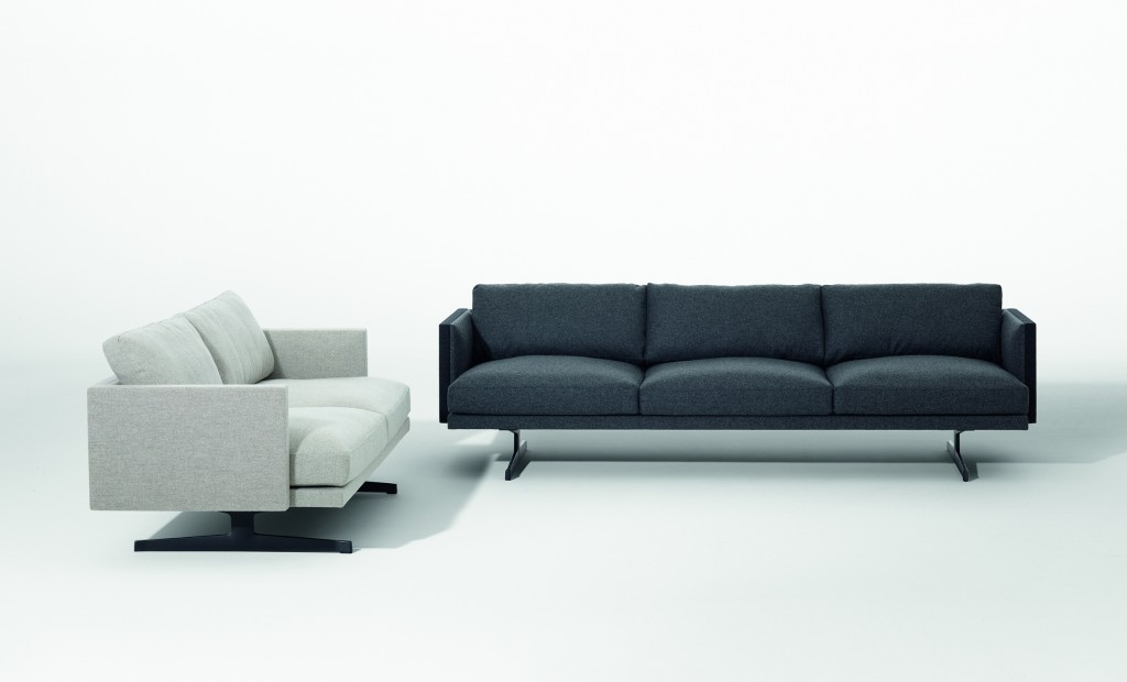 """Steeve"" seating by Jean-Marie Massaud for Arper (photo by Marco Covi, courtesy Arper)"