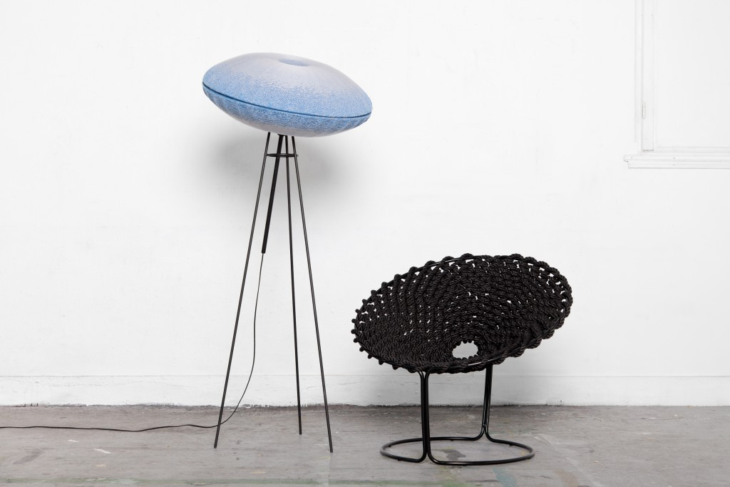 Urchin Wall Lamp, Femme Chair by Rik Ten Velden, Photo: Bjorn Nardten