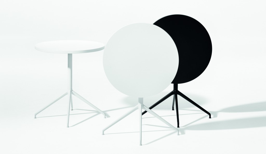 """Yop"" Tables by Lievore Altherr Molina for Arper (photo by Marco Covi, courtesy Arper)"