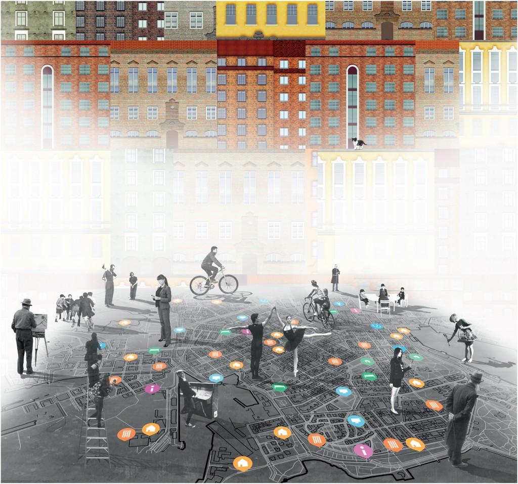 Society Lab. Design team Cecilia Danieli, Omri Revesz, Mariana Riobom / Italy. Finnish Pavilion 2016. From Border to Home. 15th International Architecture Exhibition – La Biennale di Venezia. ©Society Lab.