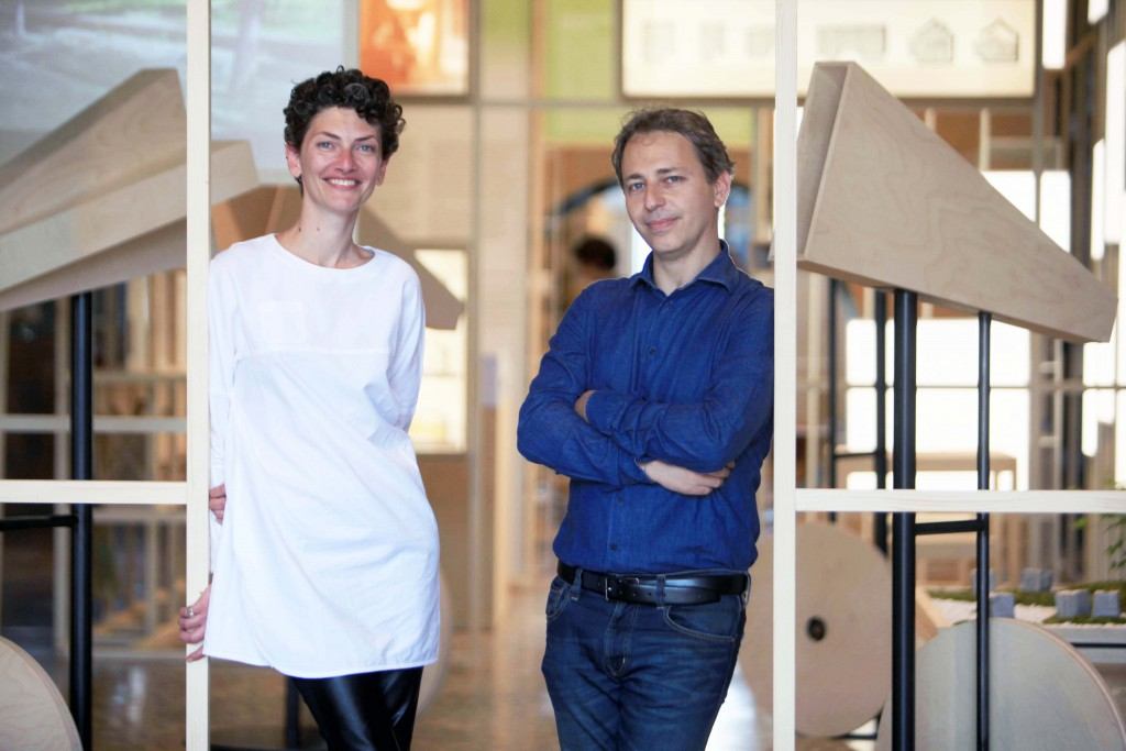 """""""Across Chinese Cities –China House Vision"""" curators Beatrice Leanza and Michele Brunello"""
