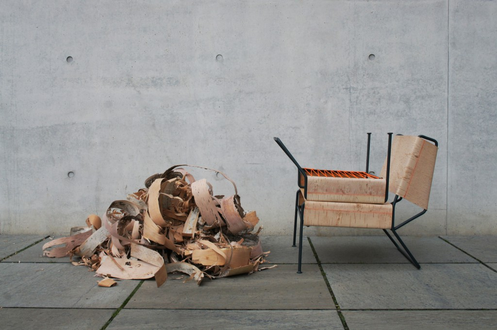 "Anastasiya Koshcheeva - ""Sibirjak"" armchair (photo courtesy the designer)"