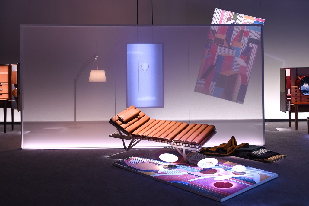 Hermès presents : Here Elsewhere an Installation designed and directed by Robert Wilson