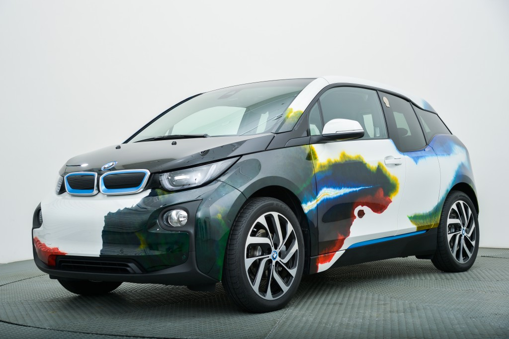 Customised BMW i3, Red Cross 150th anniversary charity event, 2016