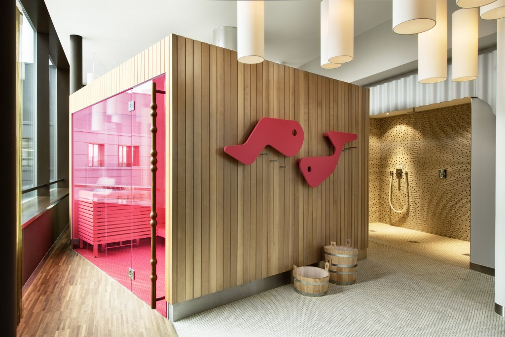 The Swiss sauna and spa with a twist 25 Hours Hotel, Zurich West