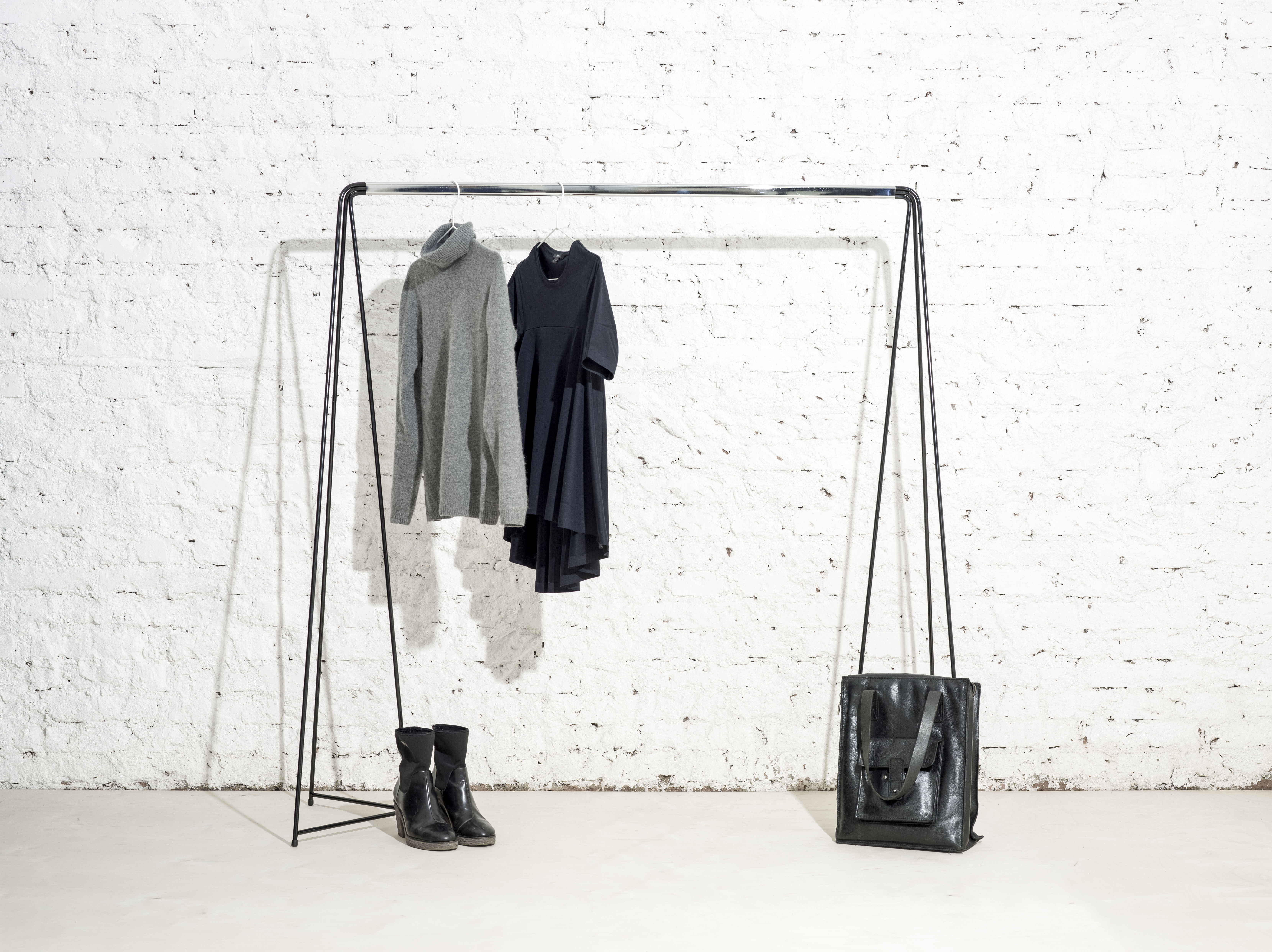 Stander clothes rack by Michal Malášek for Master & Master (photo courtesy Master & Master)