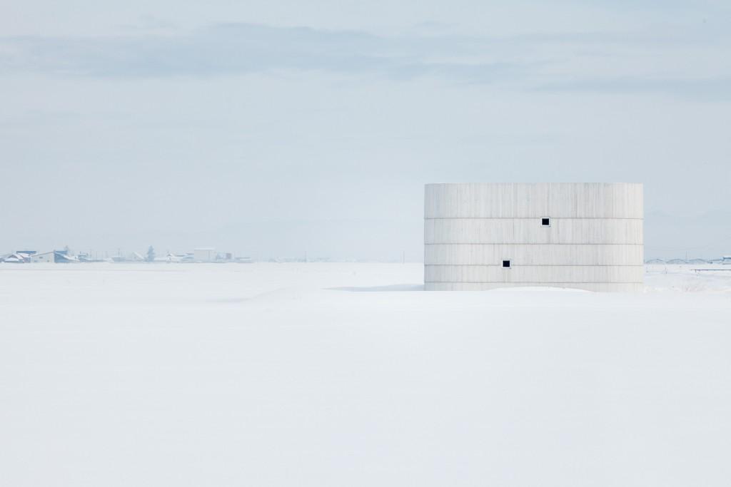 Asahikawa, Hokkaido, January 18 2014 - Repository house by Jun Igarashi.