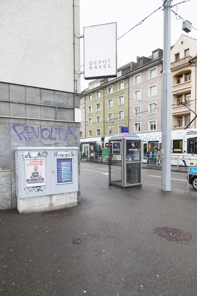 Depot Basel surroundings, Photo: Diana Pfammatter
