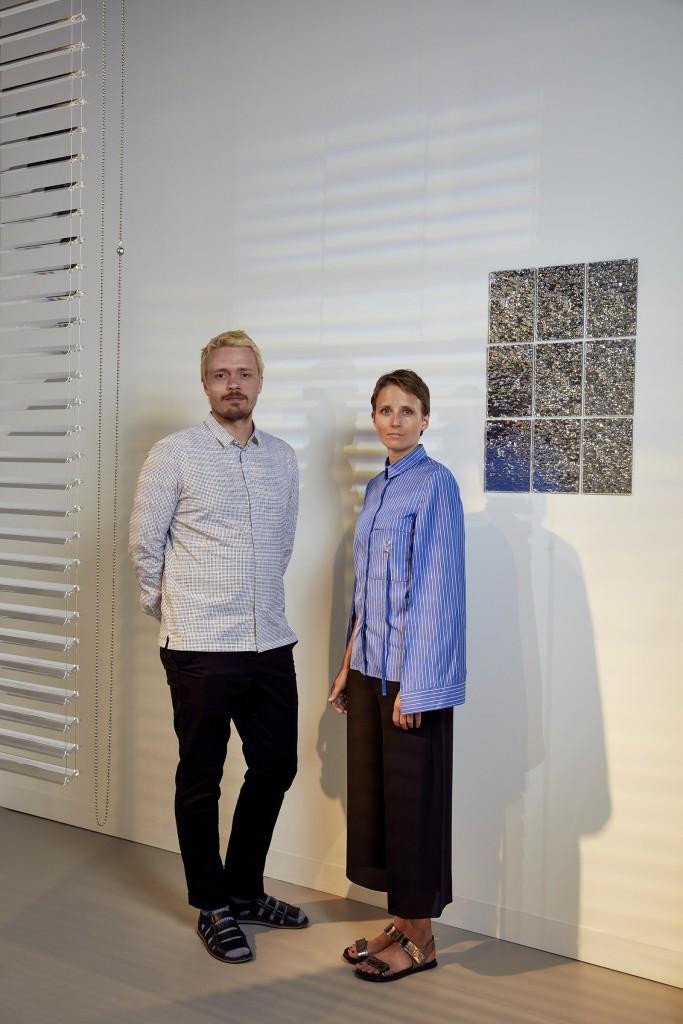"Studio Brynjar & Veronika, ""Currents"" - Swarovski Designers of the Future 2016, Design Miami/ Basel (photo by Mark Cocksedge)"