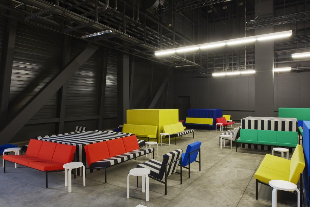 Collectors Lounge by Kuehn Malvezzi with Artek and Kvadrat