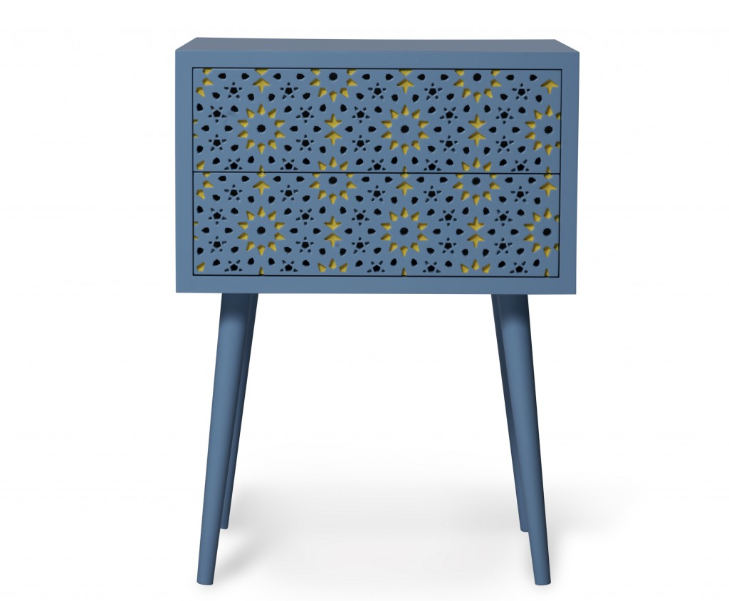 "Ehya Design Studio, ""Firouzeh"" side table (Image © Galerie JOSEPH PDW)"