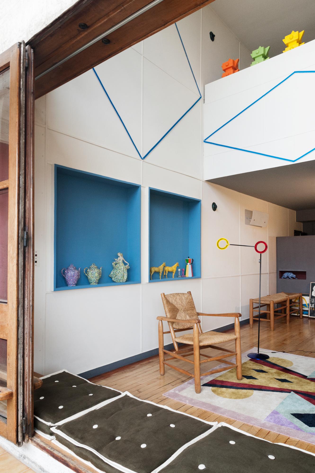alessandro mendini at corbusier 39 s unit d 39 habitation tlmagazine. Black Bedroom Furniture Sets. Home Design Ideas