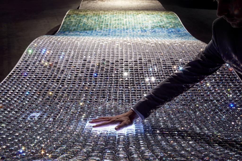 "Anjali Srinivasan, ""Unda"" - Swarovski Designers of the Future 2016, Design Miami/ Basel (photo by Mark Cocksedge)"
