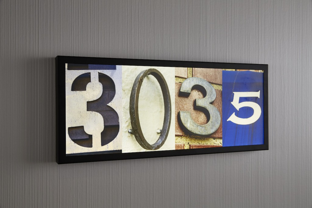 Apartment Numbers Created Using Collected Images Of House Number From The  Streets Of New York City