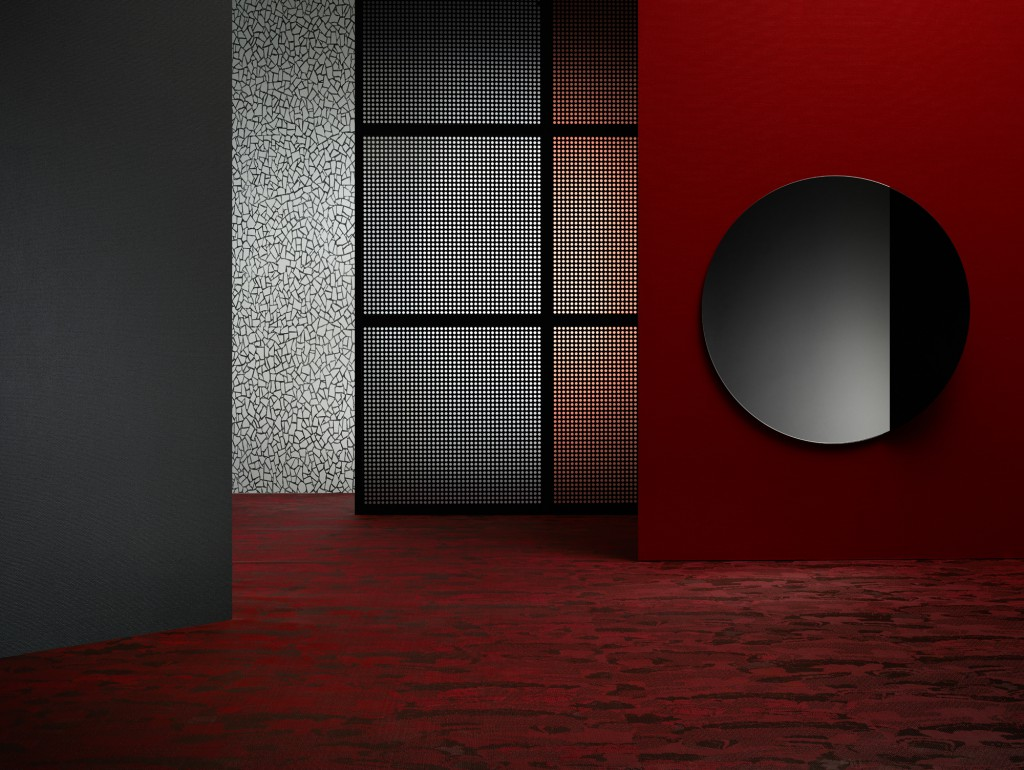 Set up for new collection 'Bolon By You' for Bolon, 2016