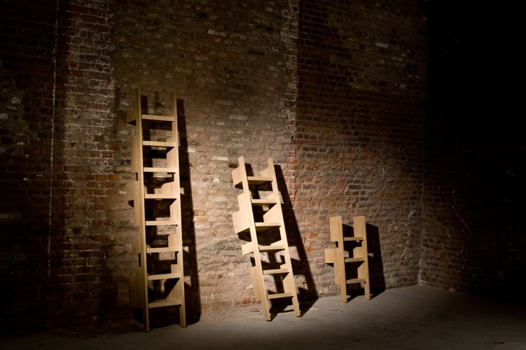 Those Ladders 1 are certainly one of the most fascinating series designed and made by Casimir. You can feel his conceptual and multifunctional quest