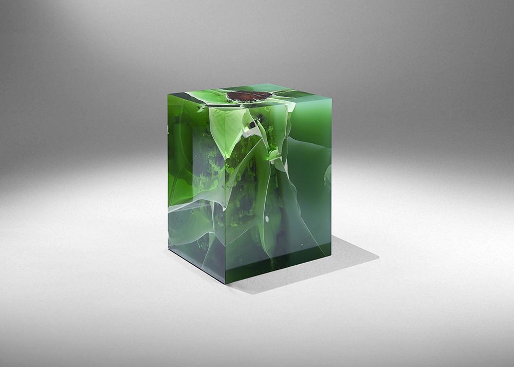 Stone Fosil Jade, Photo courtesy of Ammann Gallery