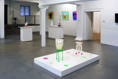 Installation view of works by Bastiaan de Nennie