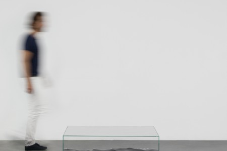 Mathieu Lehanneur - Liquid Marble Table Low, 2016.  Marble, Glass, H40 L100 W75 cm / H15.7 L39.4 W29.5 in. Limited Edition of 8 + 4 AP.