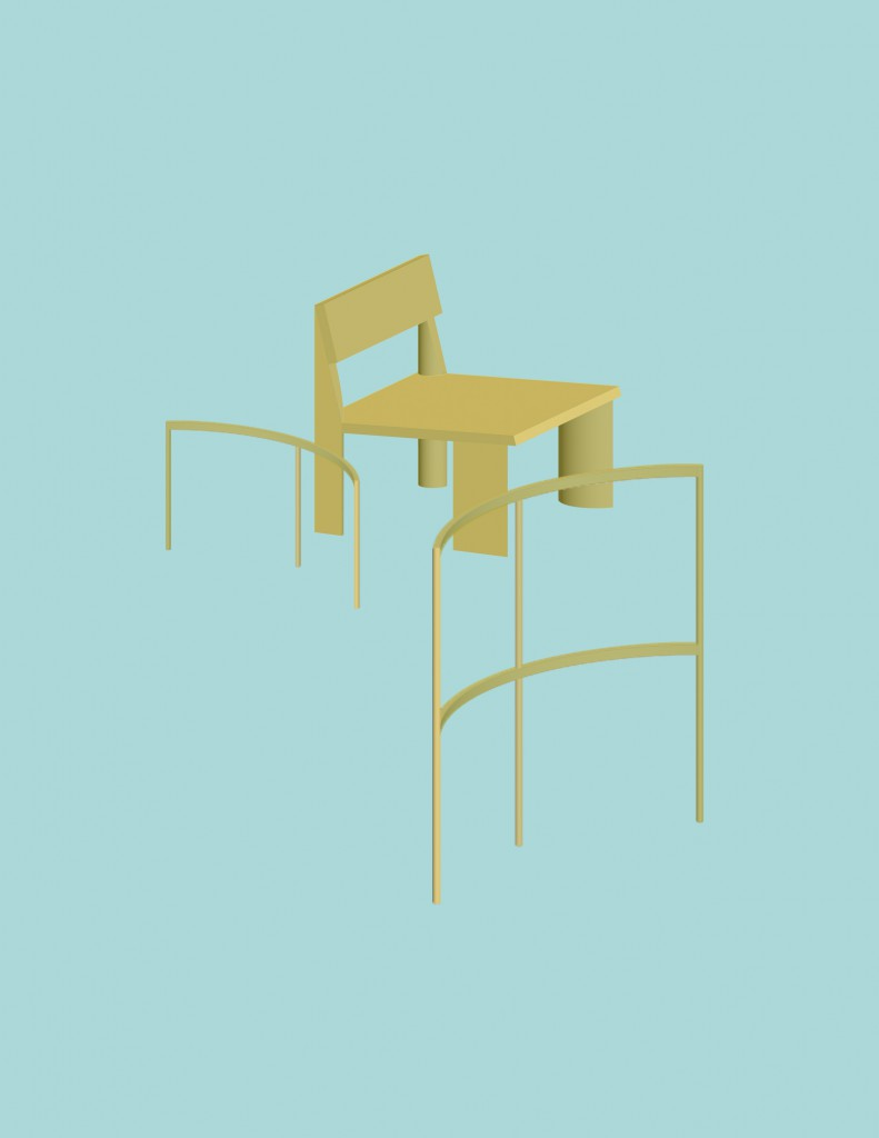 "The five new ""open objects"" exist in dialogue with Juliaan Lampens' architecture and furniture design."