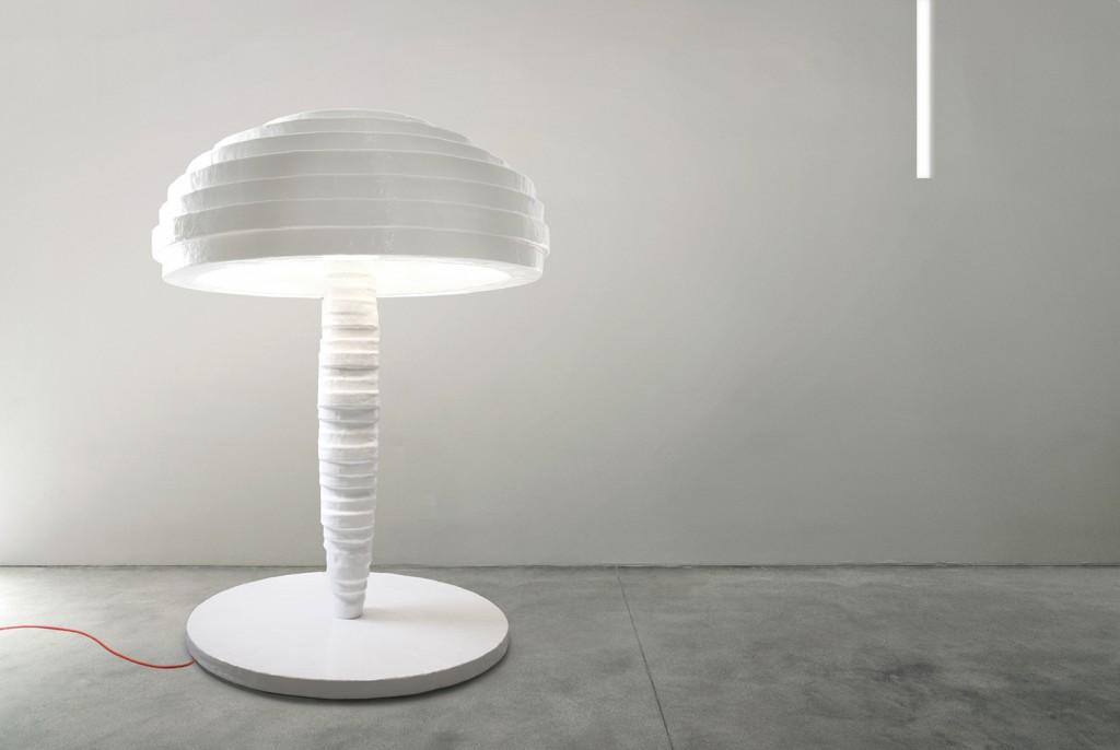 Primitive floor lamp, Photo courtesy of Amman//Gallery