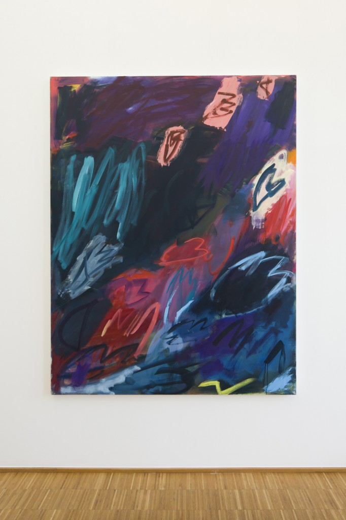 "Office Baroque presents Sadie Laska. Image: Sadie Laska, ""Untitled"", 2015. Oil and acrylic on canvas: 178 x 152 cm."