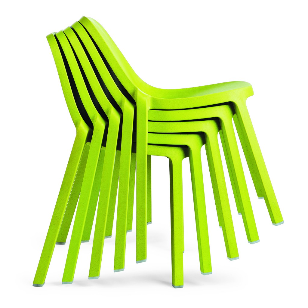 Broom stackable chair for Emeco, 2014