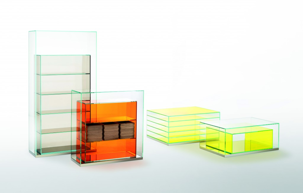 BoxInBox collection for Glas Italia, 2015