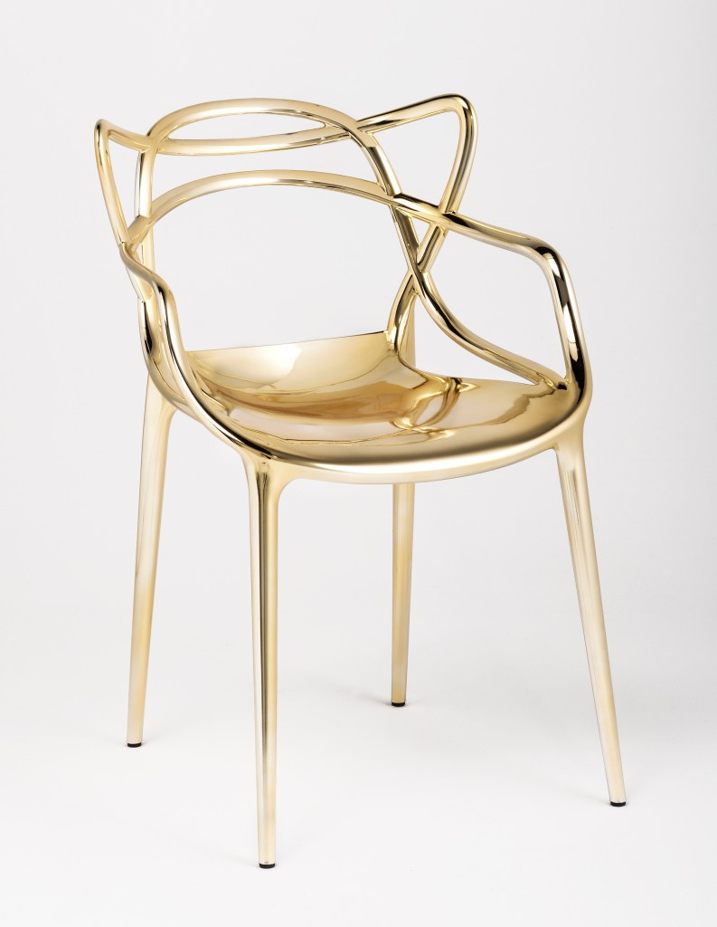 Masters Gold finish by Philippe Starck with Eugeni Quitllet for Kartell, 2014