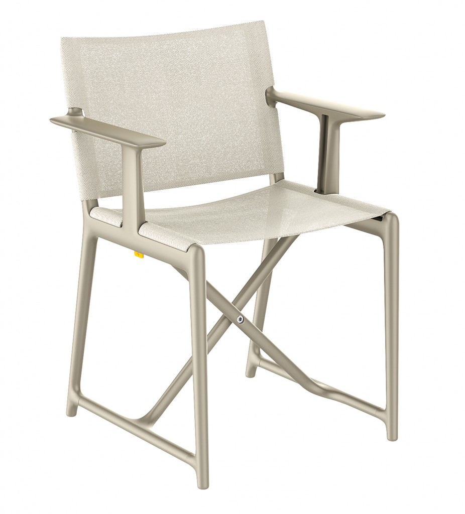 Stanley folding director chair for Magis, 2015