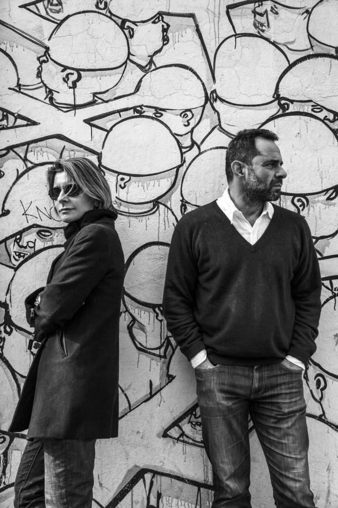 Ludovica and Roberto Palomba. Photo: Enrico Costantini