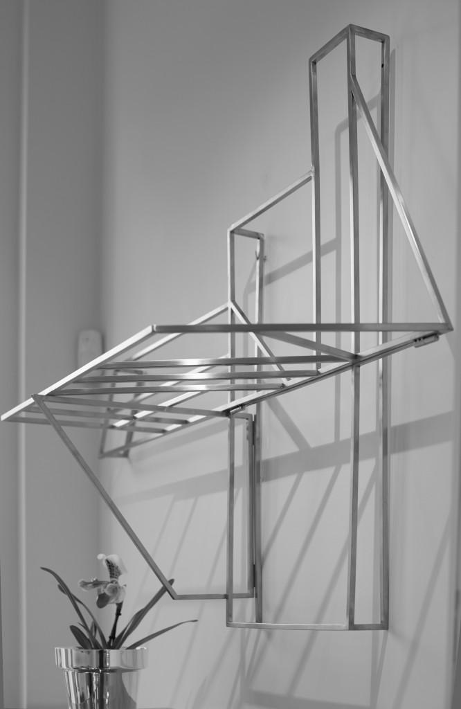Installation view of exhibition Silver Edition at Spazio Nobile. Photo: Jörg Bräuer
