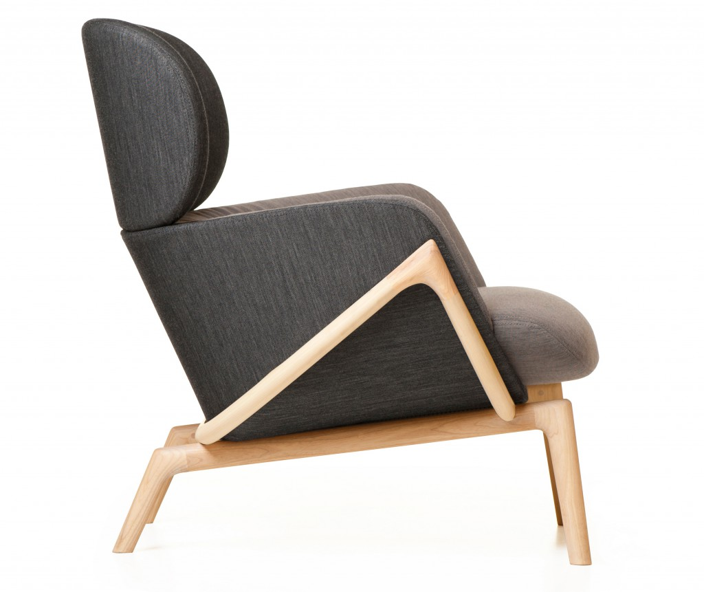 Elysia Lounge Chair for De La Espada, 2015