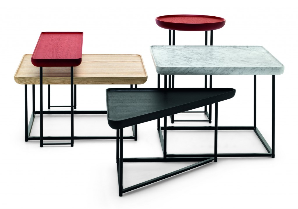 Torei Side tables system for Cassina, 2012/2014 - Photo © Cassina