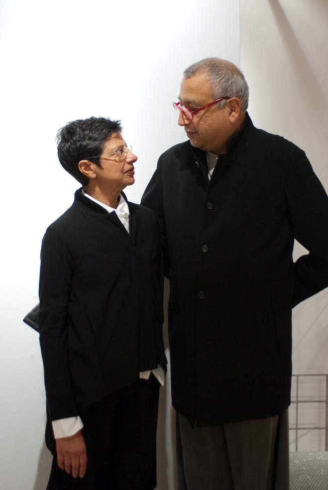 Nargis and Nasir Kassmali, photo courtesy Luminaire.