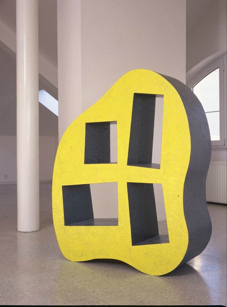 Erratic Boulder Bookcase by Jirí Pelcl